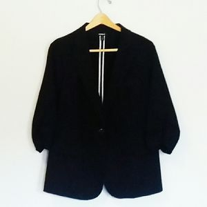 TORRID Stretch Black Blazer Jacket